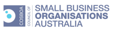 Small Business Organisations Australia Logo